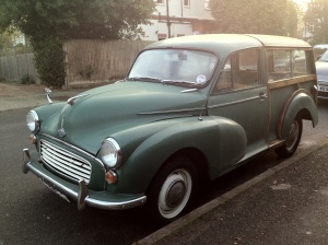 Navigate London in one of these? Don't forget the wood polish.